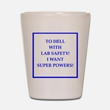 super powers Shot Glass