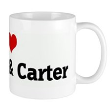 I Love Clayton & Carter Mug