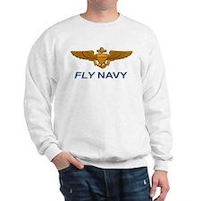 Cute Navy Sweatshirt