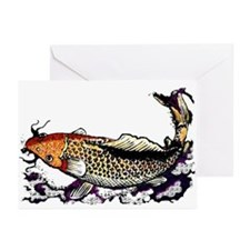 Chinese Fish Greeting Cards (Pk of 10)