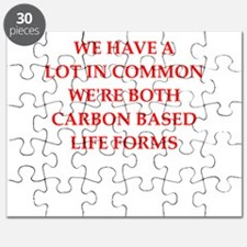carbon based life form Puzzle