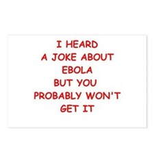 ebola Postcards (Package of 8)