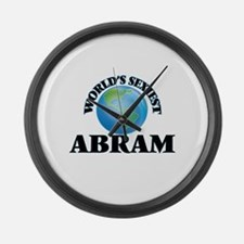 World's Sexiest Abram Large Wall Clock