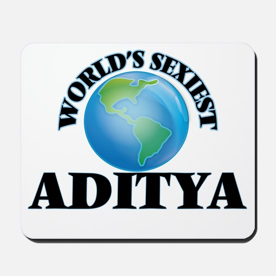 World's Sexiest Aditya Mousepad