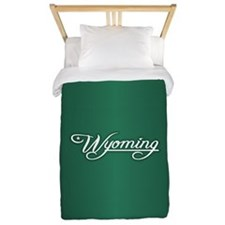 Wyoming State of Mine Twin Duvet