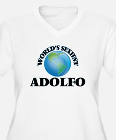 World's Sexiest Adolfo Plus Size T-Shirt