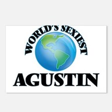 World's Sexiest Agustin Postcards (Package of 8)