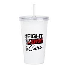 Oral Cancer Support Acrylic Double-wall Tumbler