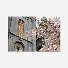 Salt Lake Temple Rectangle Magnet