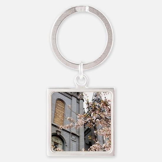 Salt Lake Temple Square Keychain