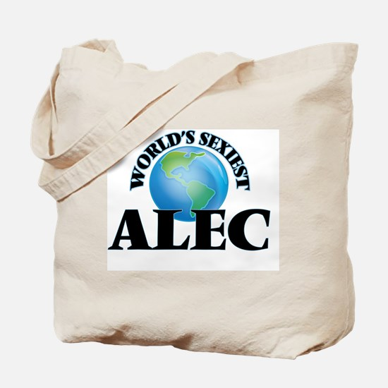 World's Sexiest Alec Tote Bag