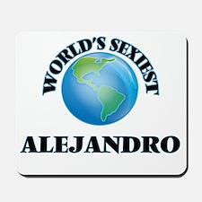 World's Sexiest Alejandro Mousepad