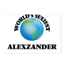 World's Sexiest Alexzande Postcards (Package of 8)