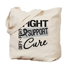 Melanoma Fight Support Tote Bag