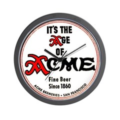 Acme Beer - 1943 Wall Clock