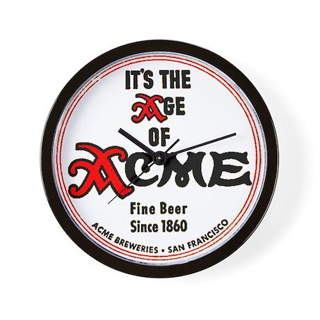 Acme Beer - 1943 Wall Clock