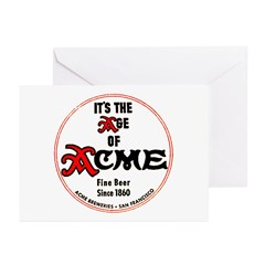 Acme Beer - 1943 Greeting Cards (Pk of 10)