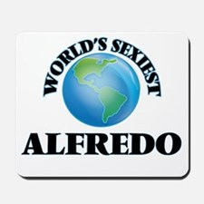 World's Sexiest Alfredo Mousepad