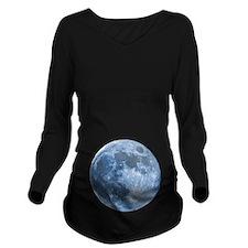 Blue Moon Long Sleeve Maternity T-Shirt
