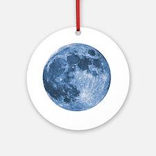 Blue Moon Ornament (Round)