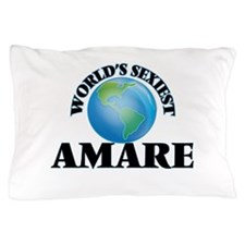 World's Sexiest Amare Pillow Case