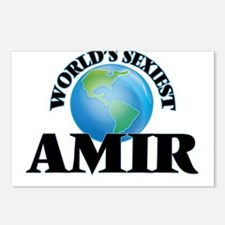 World's Sexiest Amir Postcards (Package of 8)