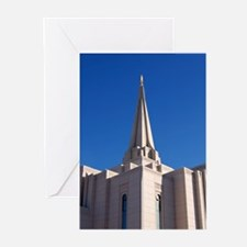 LDS Gilbert Temple Greeting Cards