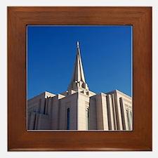 LDS Gilbert Temple Framed Tile