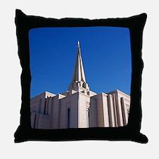 LDS Gilbert Temple Throw Pillow
