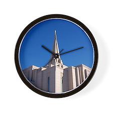 LDS Gilbert Temple Wall Clock