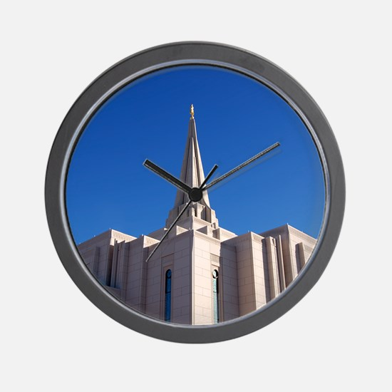 LDS Gilbert Temple Wall Clock