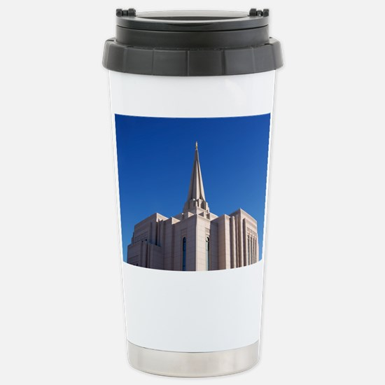 LDS Gilbert Temple Travel Mug