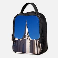 LDS Gilbert Temple Neoprene Lunch Bag