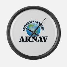 World's Sexiest Arnav Large Wall Clock