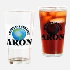 World's Sexiest Aron Drinking Glass