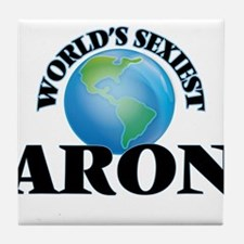 World's Sexiest Aron Tile Coaster
