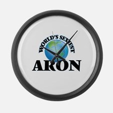 World's Sexiest Aron Large Wall Clock