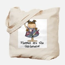 Blessed Are The Gardeners Tote Bag