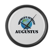 World's Sexiest Augustus Large Wall Clock