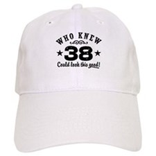 Funny 38th Birthday Baseball Cap