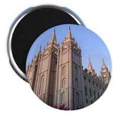 Salt Lake Temple Sunset Magnets