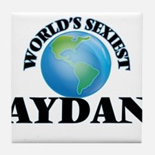 World's Sexiest Aydan Tile Coaster
