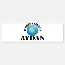 World's Sexiest Aydan Bumper Bumper Bumper Sticker