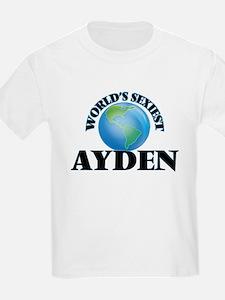 World's Sexiest Ayden T-Shirt
