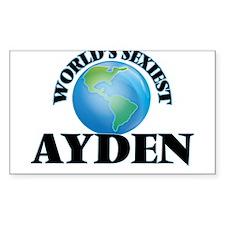 World's Sexiest Ayden Decal