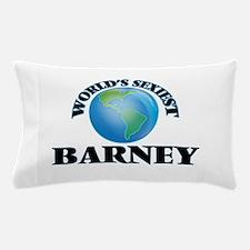 World's Sexiest Barney Pillow Case