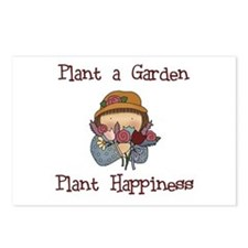 Plant Happiness Postcards (Package of 8)