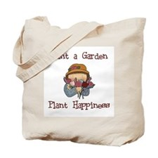 Plant Happiness Tote Bag