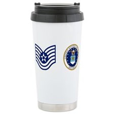 Cute Retired usaf Travel Mug