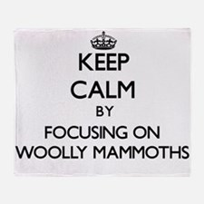 Keep Calm by focusing on Woolly Mamm Throw Blanket